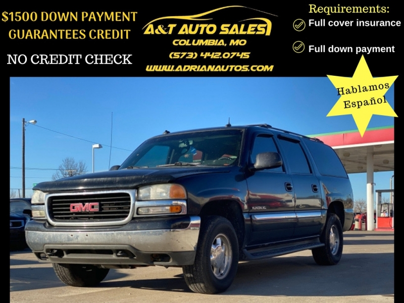 GMC Yukon XL 2003 price $3,999 Cash