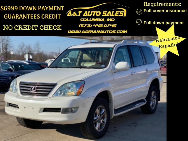 Lexus GX 470 2008 price $12,699 CASH