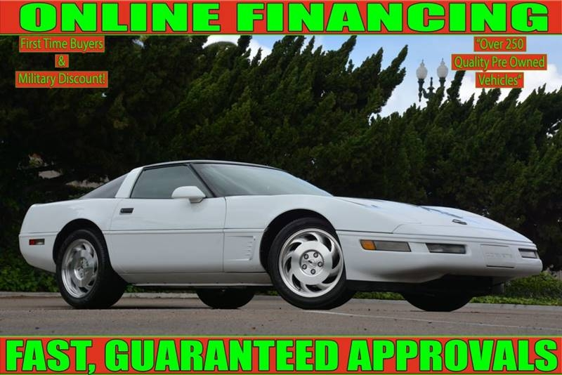 National City Auto Center >> 1996 Chevrolet Corvette Base 2dr Hatchback National City Auto Center