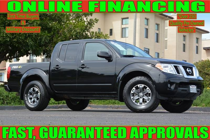 Nissan National City >> 2018 Nissan Frontier Pro 4x 4x4 4dr Crew Cab 5 Ft Sb 5a