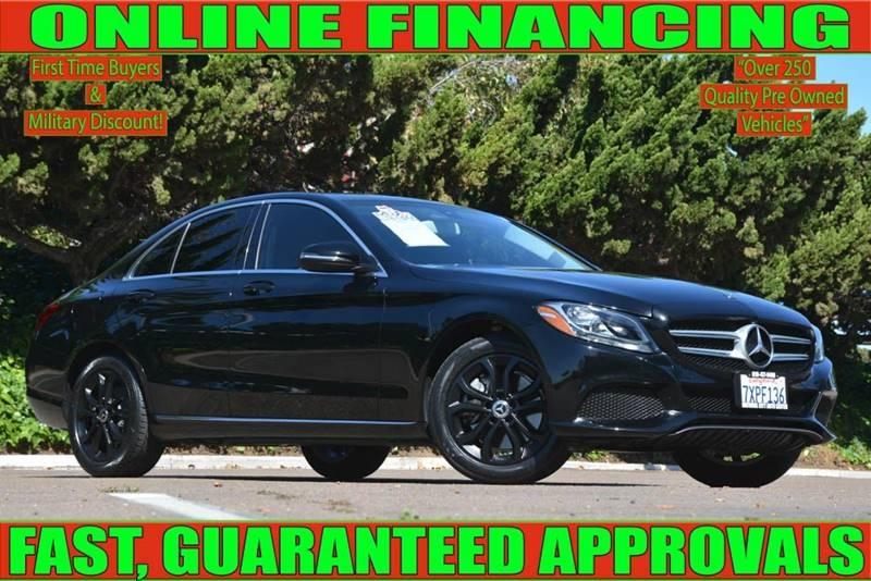 Mercedes-Benz C-Class 2017 price $23,900