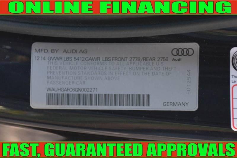 Audi A6 2016 price $34,700