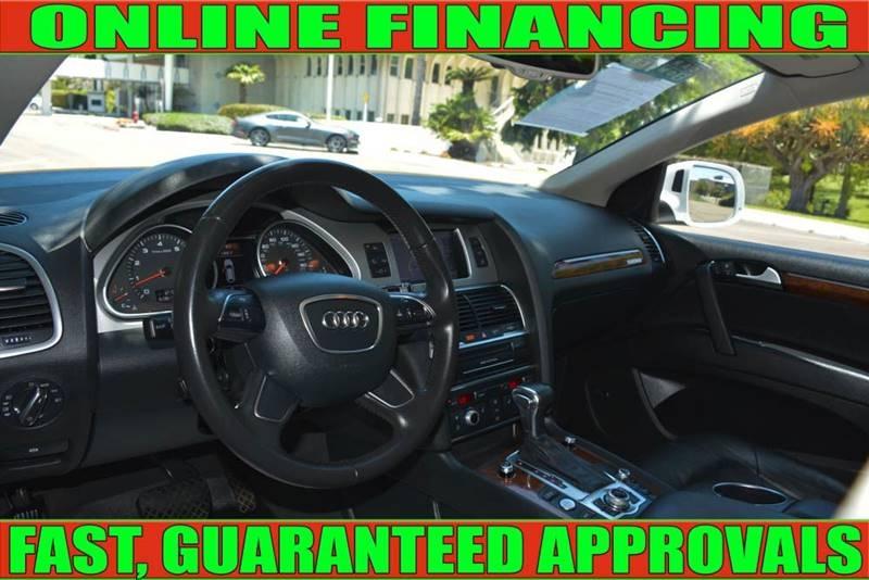 Audi Q7 2015 price $27,490