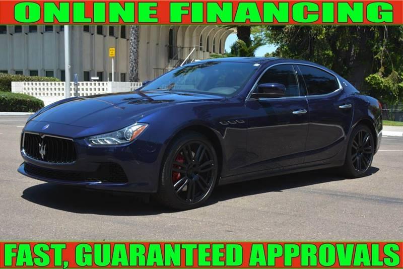 Maserati Ghibli 2015 price $31,999