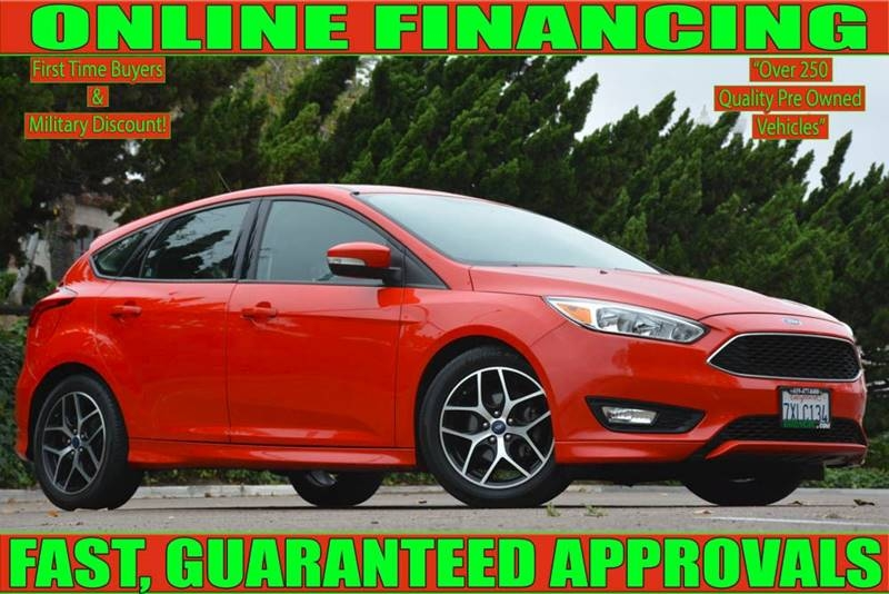 National City Auto Center >> 2016 Ford Focus Se 4dr Hatchback National City Auto Center Auto