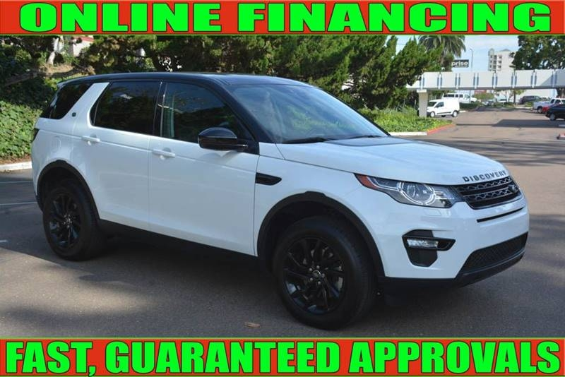 Land Rover Discovery Sport 2016 price $27,615