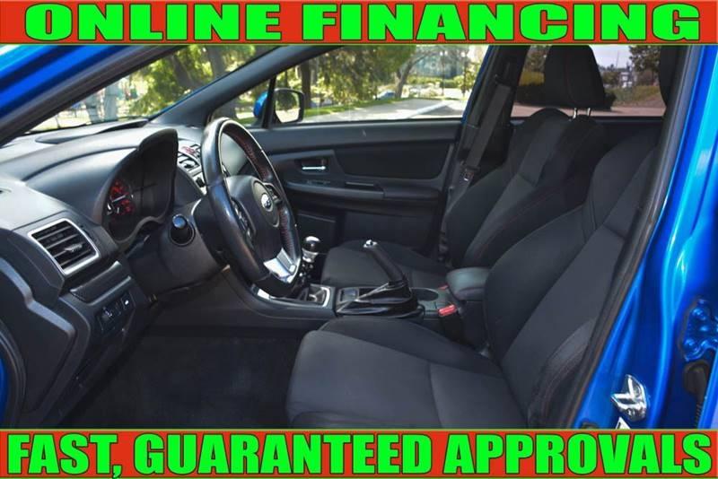 Subaru WRX 2016 price $22,905