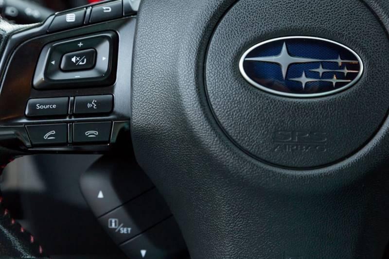 Subaru WRX 2016 price $21,900