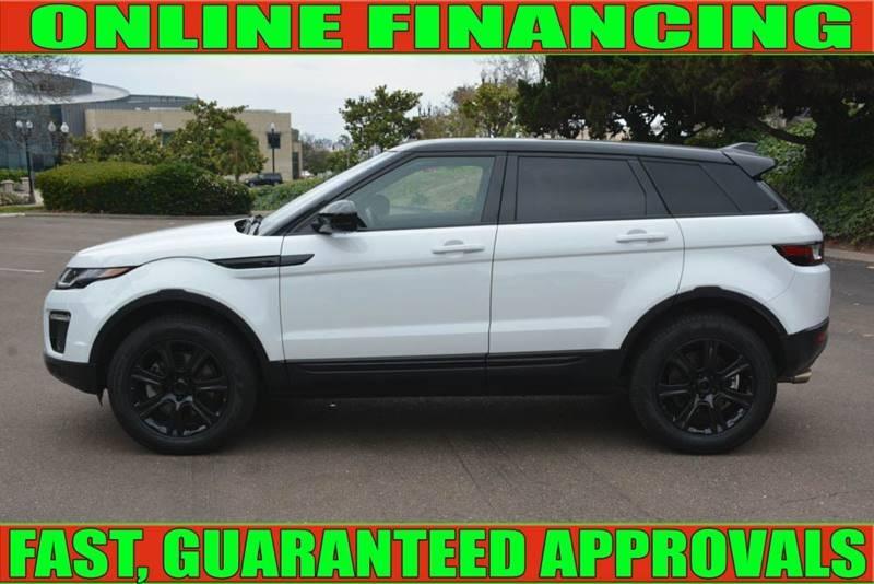 Land Rover Range Rover Evoque 2016 price $30,990