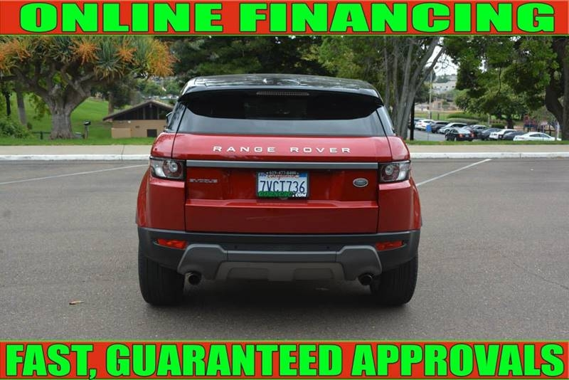 Land Rover Range Rover Evoque 2015 price $28,990