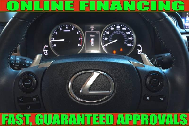 Lexus IS 250 2015 price $21,990