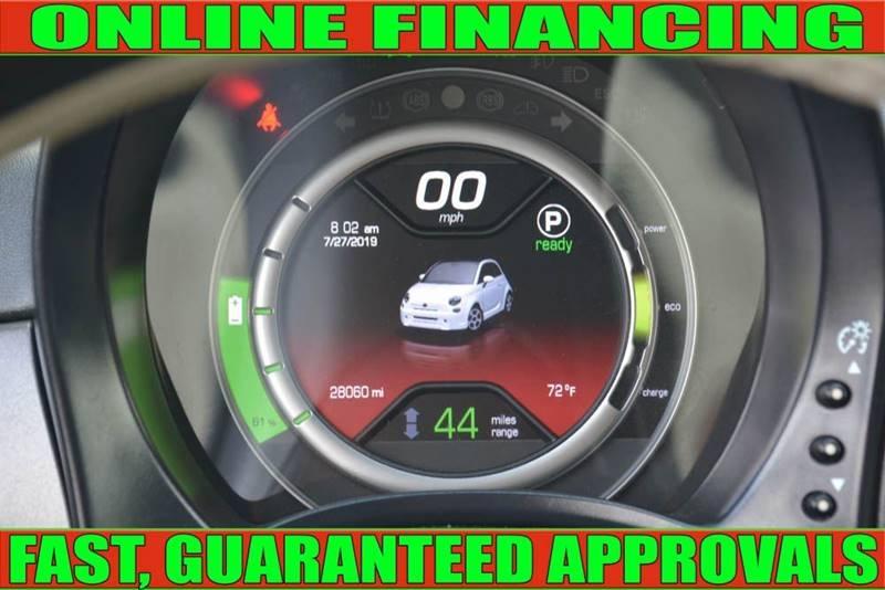 FIAT 500e 2016 price $9,700