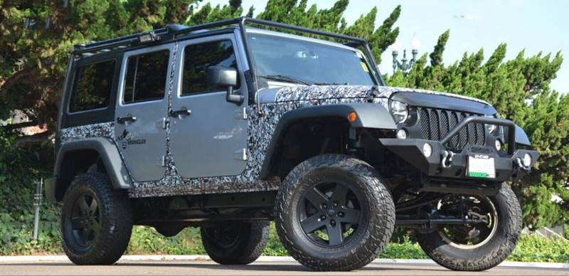 Jeep Wrangler Unlimited 2016 price $27,700
