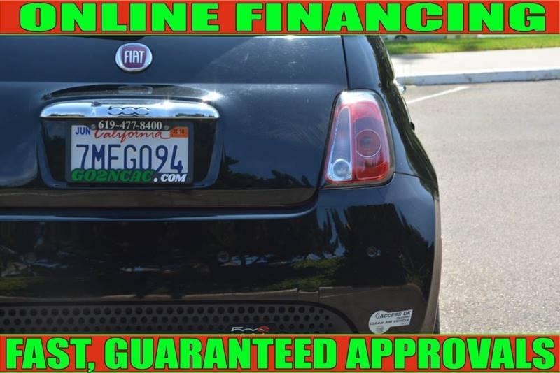 FIAT 500e 2015 price $8,990
