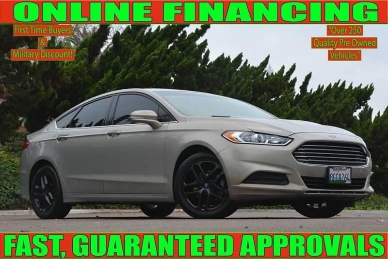 National City Auto Center >> 2015 Ford Fusion Se 4dr Sedan