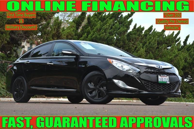 National City Auto Center >> 2014 Hyundai Sonata Hybrid Base 4dr Sedan