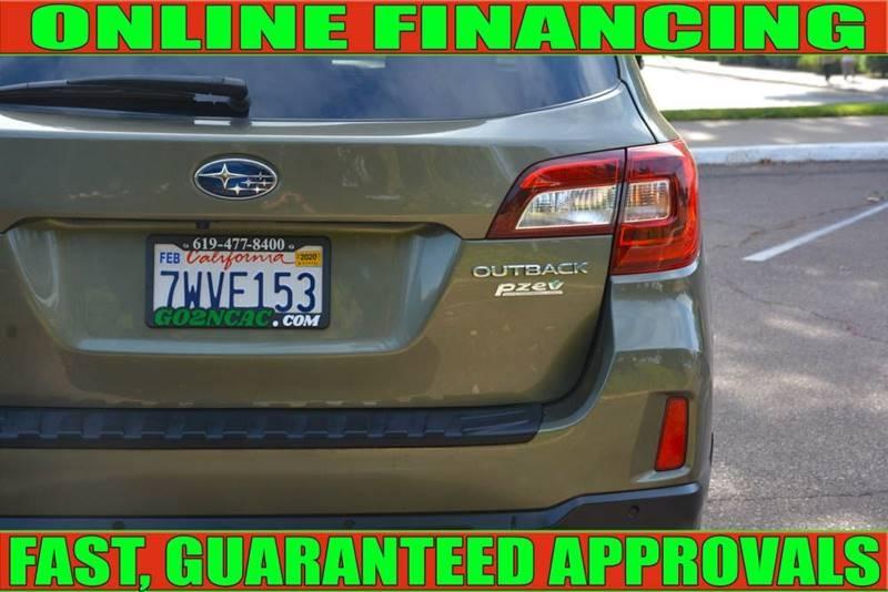 Subaru Outback 2017 price $23,990