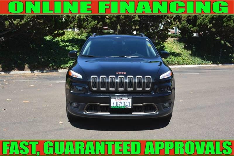Jeep Cherokee 2016 price $18,700