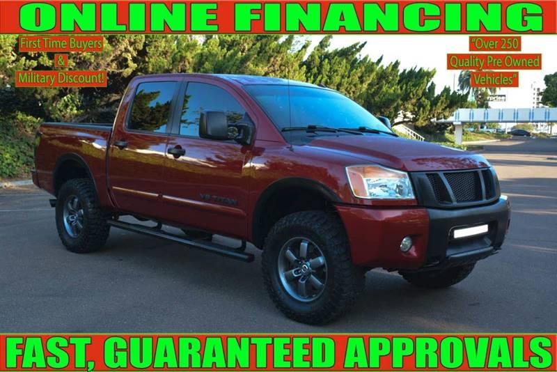 Nissan Titan 2014 price $26,700