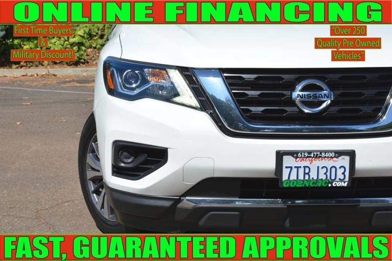 Nissan Pathfinder 2017 price $16,700
