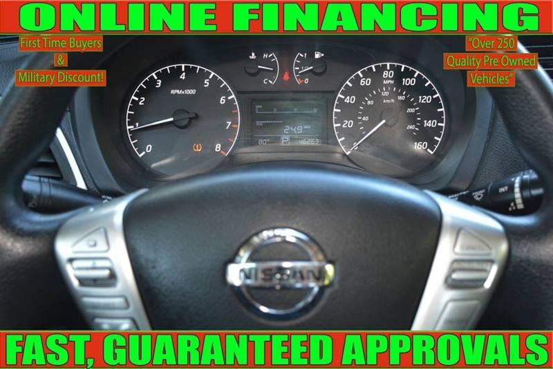 Nissan Sentra 2016 price $10,905