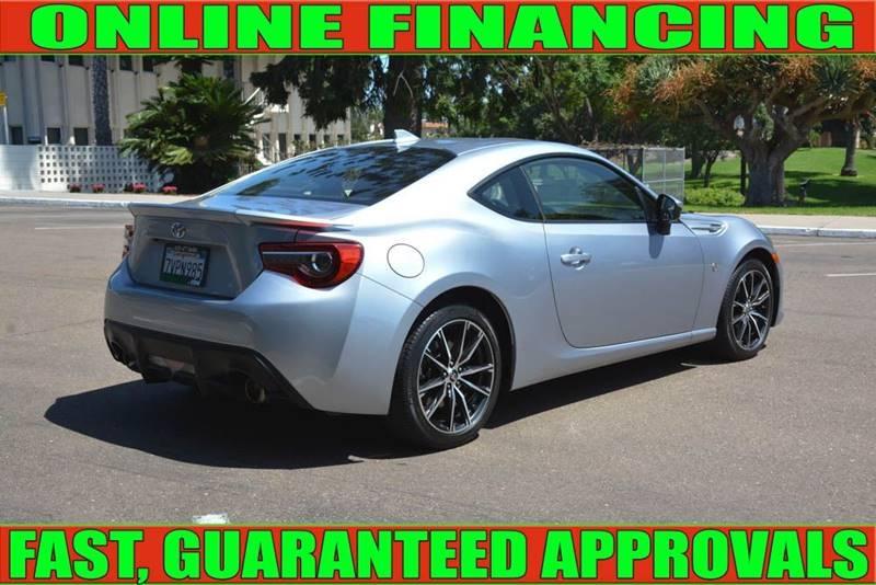 Toyota 86 2017 price $22,815