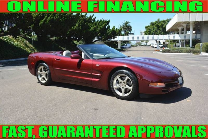 Chevrolet Corvette 2003 price $17,960