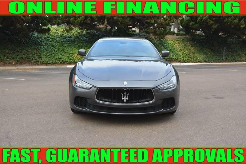 Maserati Ghibli 2016 price $32,990