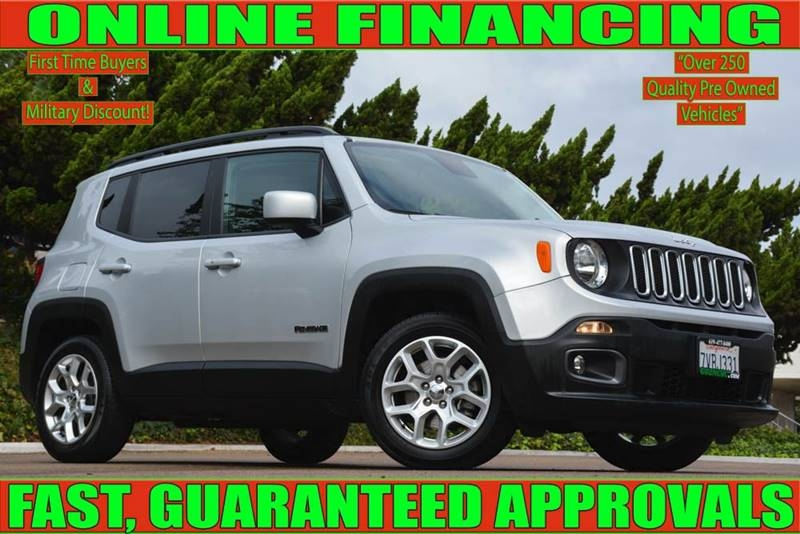 Jeep Renegade 2016 price $16,700