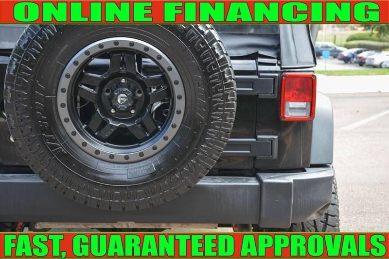 Jeep Wrangler 2017 price $25,990