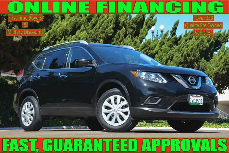 Nissan National City >> 2016 Nissan Rogue S 4dr Crossover