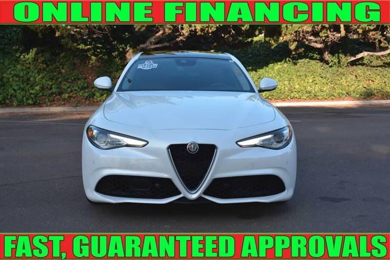 Alfa Romeo Giulia 2017 price $27,990