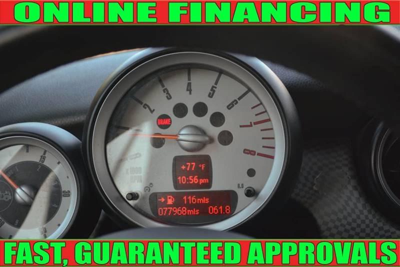 MINI Cooper 2009 price $6,700