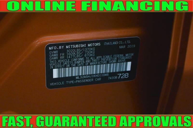 Mitsubishi Mirage 2019 price $14,990