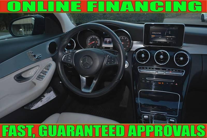 Mercedes-Benz C-Class 2015 price $21,700