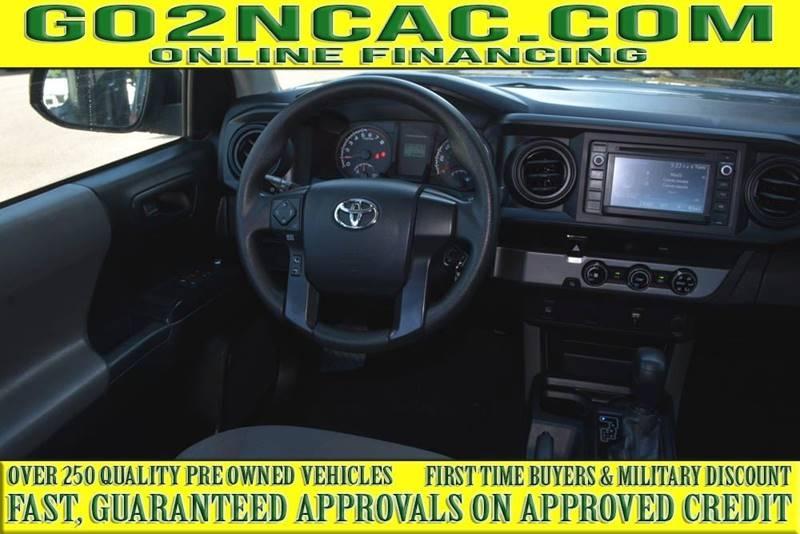 Toyota Tacoma 2017 price $20,790