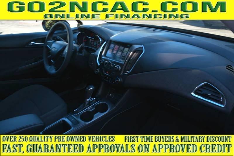 Chevrolet Cruze 2017 price $14,700