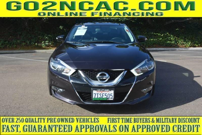 Nissan Maxima 2016 price $18,700