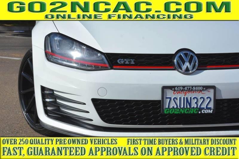 Volkswagen Golf GTI 2015 price $14,700