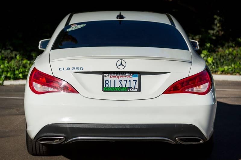 Mercedes-Benz CLA 2017 price $20,900