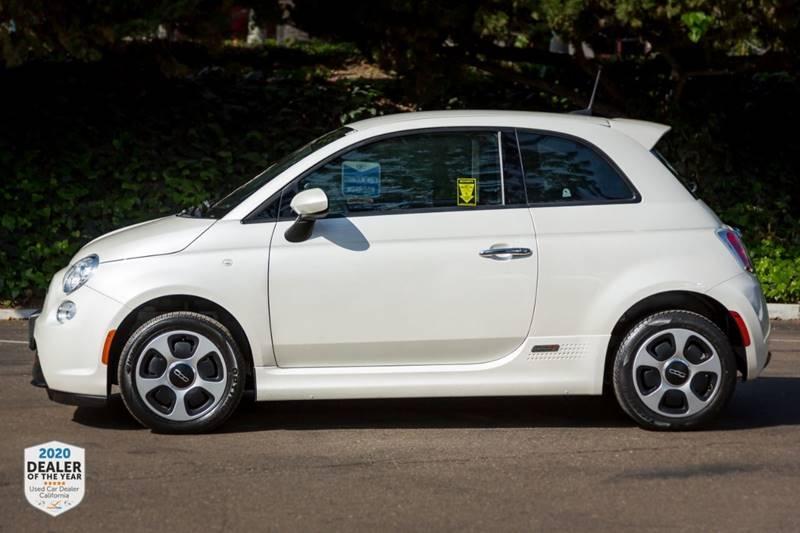 FIAT 500e 2017 price $9,470