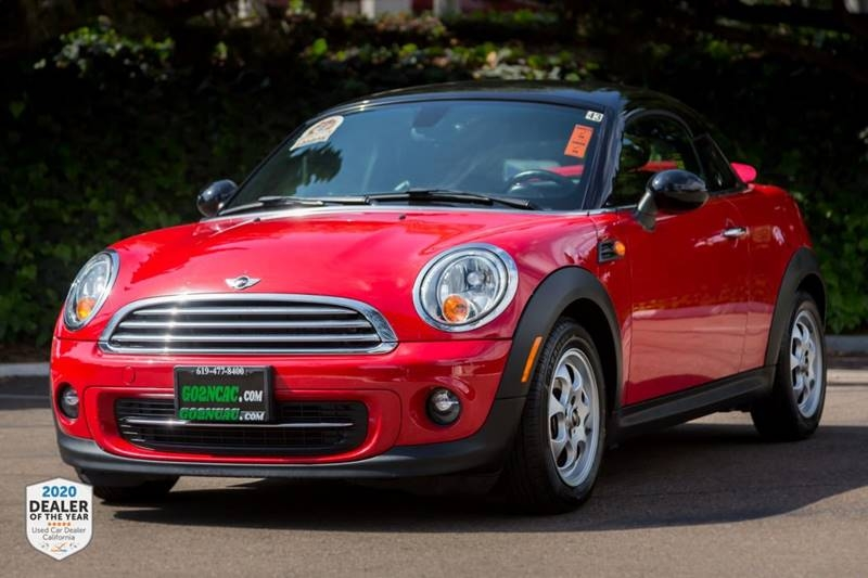 MINI Coupe 2013 price $10,900