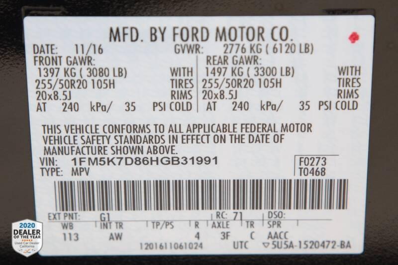 Ford Explorer 2017 price $23,900