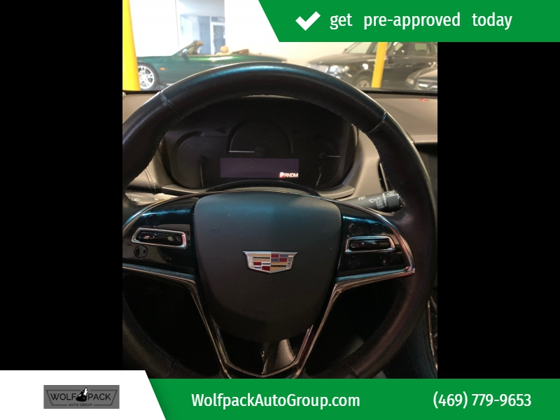 Cadillac ATS Sedan 2015 price $8,401