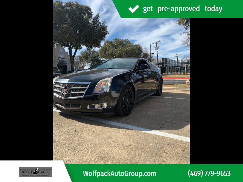 Cadillac CTS Coupe 2011 price $8,269